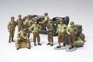 WWII US Infantry at Rest (32552)