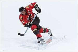 NHL Sportspicks Series 10 Jarome Iginla (Calgary Flames) Red Jersey