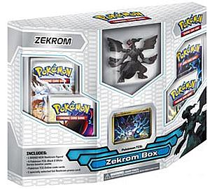 Pokemon Trading Card Game Black & White Base Set: Zekrom Box Set