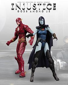 DC Direct Injustice Gods Among Uss 2-Pack: The Flash vs Raven