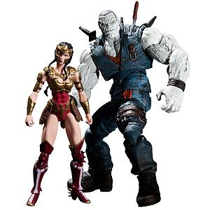 DC Direct Injustice Gods Among Uss 2-Pack: Wonder Woman vs Solomon Grundy
