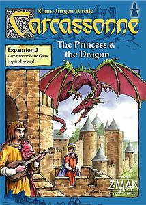 Carcassonne: Princess & The Dragon (Old Edition)