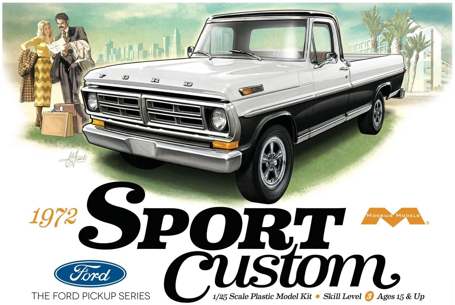 1972 Ford Sport Custom Pickup (1220)