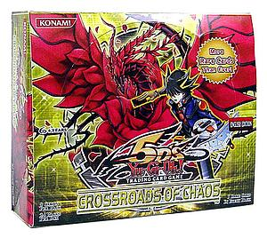 YuGiOh Trading Card Game Crossroads of Chaos: Booster Box