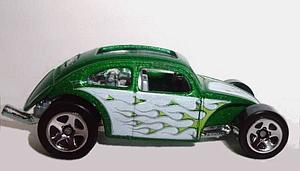 Hot Wheels Cars Die-Cast: Custom Volkswagen Beetle