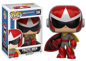 Pop! Games Mega Man Vinyl Figure Proto Man #104