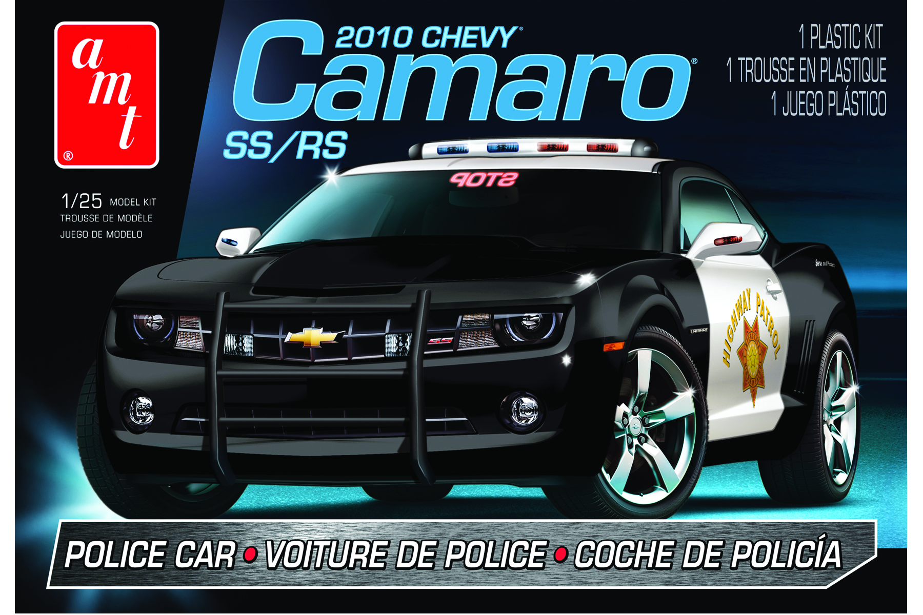 2010 Chevy Camaro Police Car (817)