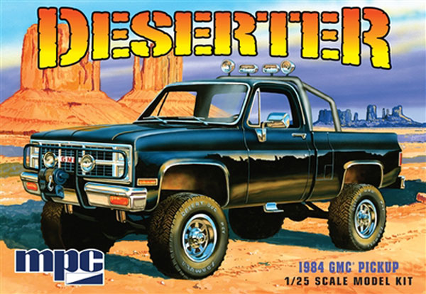 1984 GMC Pickup Deserter [Black] (848)