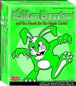 Killer Bunnies & the Quest for the Magic Carrot: Green Booster Deck