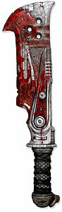 Gears of War 3 Foam Prop Replica 34 Inch Butcher's Cleaver