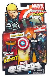 Marvel Legends Terrax Series 1: Steve Roger's Captain America