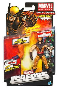 Marvel Legends Arnim Zola Series 2: Dark Wolverine