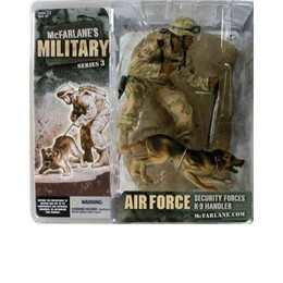 Military Series 3: Security Forces K-9 Handler (African American)