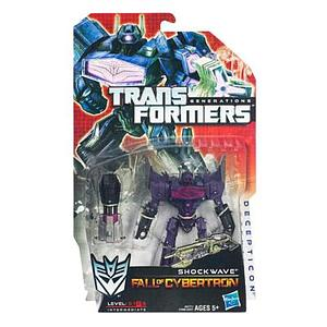 Transformers Generations Fall of Cybertron Deluxe Class: Shockwave