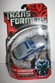 Transformers Movie Series (2007) Series Deluxe Class Recon Barricade