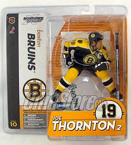 NHL Sportspicks Series 10 Joe Thornton (Boston Bruins) Black Jersey Variant