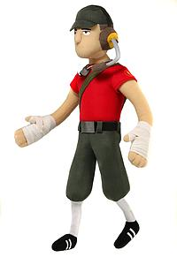 "Team Fortress 2 Deluxe 13"" Plush Figure: The Scout"