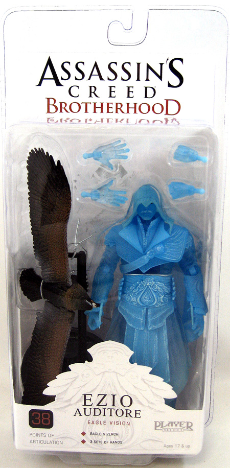 Assassin's Creed Brotherhood SDCC Exclusive Figure: Ezio Auditore (Eagle Vision)