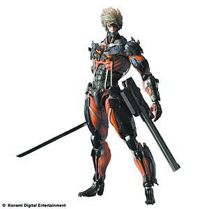 Square Enix Metal Gear Rising Play Arts Kai: Raiden Red Suit Exclusive