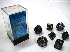 Dice 7-Piece Polyhedral Set - Speckled Twilight