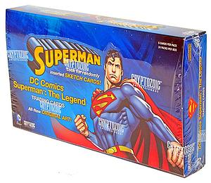 Cryptozoic DC Superman The Legend Trading Cards: Box