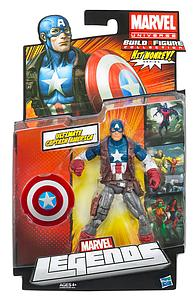 Marvel Legends Hit Monkey Series 4: Captain America