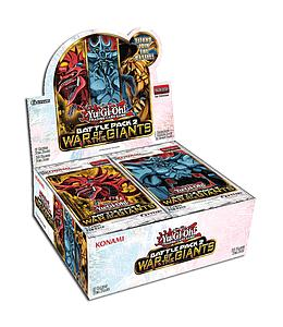 YuGiOh Trading Card Game Battle Pack 2 War of the Giants: Booster Box