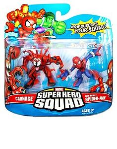 "Marvel Super Hero Squad 2"" 2-Pack: Carnage & Spider-Man"