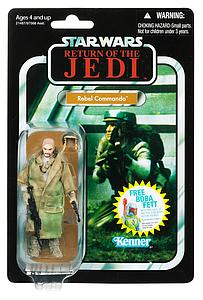 "Star Wars Vintage Series 4"": Rebel Commando"