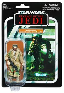 "Star Wars Vintage Series 4"": African Rebel Commando"