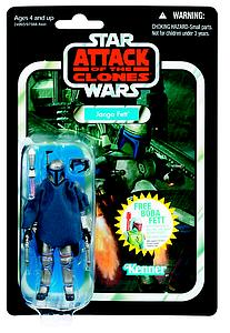 "Star Wars Vintage Series 4"": Jango Fett"