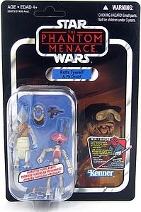 "Star Wars Vintage Series 4"": Ratts Tyerell & Pit Droid"