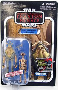 "Star Wars Vintage Series 4"": Ben Quadinaros & Otoga-222"