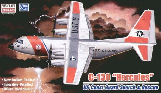 "C-130 ""Hercules"" US Coast Guard Search & Rescue (14524)"