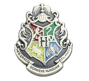 Harry Potter Pin Hogwarts Crest