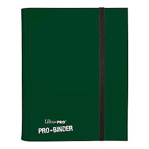 9-Pocket Pro Sideloading Binder Green