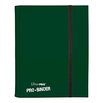 9-Pocket Pro-Binder: Green
