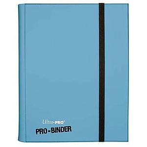9-Pocket Pro-Binder: Light Blue