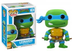 Pop! Television Teenage Mutant Ninja Turtles Vinyl Figure Leonardo #63
