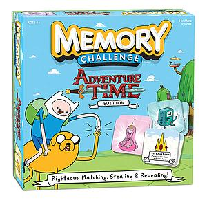 Memory Challenge: Adventure Time Edition