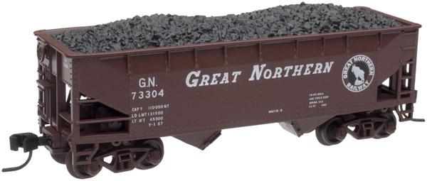 2-Bay Offset Side Hopper - Great Northern (40844)