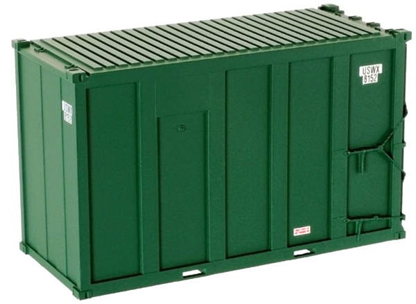 20' Hi-Cube MSW Trash Container - USWX Set (20001197)