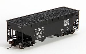 2-Bay Offset Hopper Car Flat End - Elgin Joliet & Eastern (20001493)