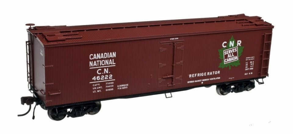 40' Wood Reefer - Canadian National  (20002715)