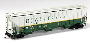 Thrall 4750 Covered Hopper - Reading Blue Mountain & Northern (20002898)