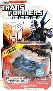 Transformers Prime Deluxe Class: Arcee (Canadian Packaging)