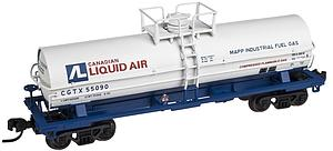 11,000 Gallon Tank Car With Platform - Canadian Liquid Air [CGTX] (50001576)