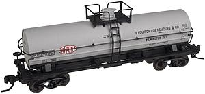 11,000 Gallon Tank Car with Platform - DuPont (50001580)