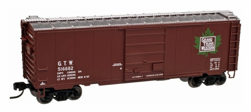 40' PS-1 Boxcar - Grand Trunk Western (50001628)