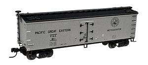 40' Wood Reefer - Pacific Great Eastern (50001754)